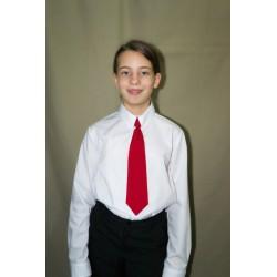 Cravata rosie mica, pentru...