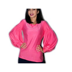Camasa roz cu maneca lunga,...