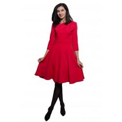 Rochie de damă clos roșie,...