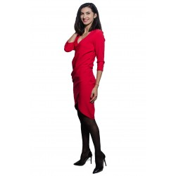 Rochie de damă roșie,...