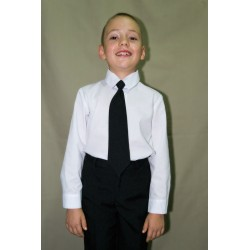 Cravata neagra mica pentru...