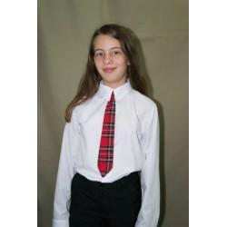 Cravata mica carouri rosii...